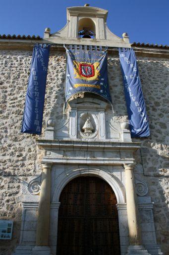 Ermita de la Virgen del Egido, pórtico