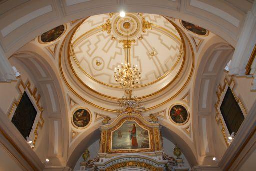 Ermita del Santo Cristo de la Salud, cúpula