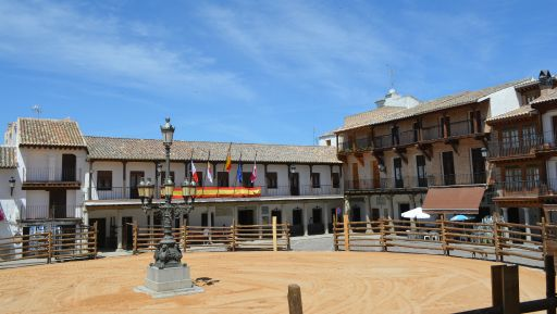 Plaza Mayor en fiestas (1)