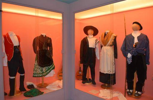 Museo de la Celestina, sala de trajes típicos