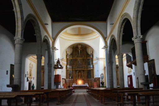 Iglesia parroquial de Nuestra Señora de la Paz, interior