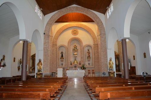 Ermita de San Roque, interior