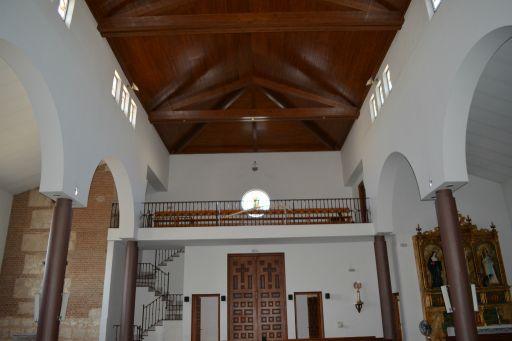 Iglesia parroquial de Nuestra Señora de la Asunción, interior trasero