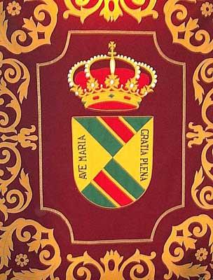 Escudo en tapiz