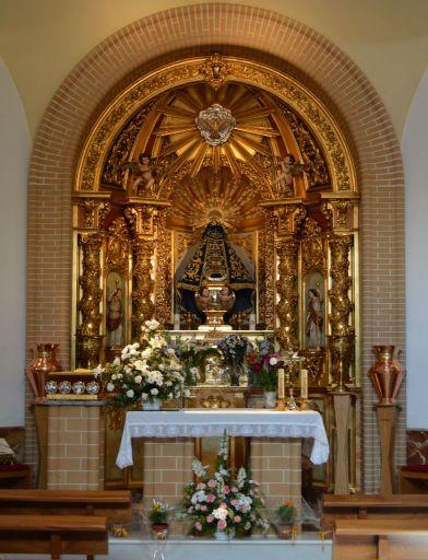 Iglesia parroquial de San Pedro Apóstol, capilla Virgen de la Oliva