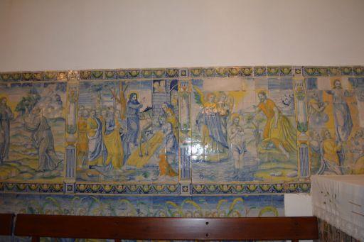 Piedraescrita, Iglesia parroquial de Sta. María de Piedraescrita, friso