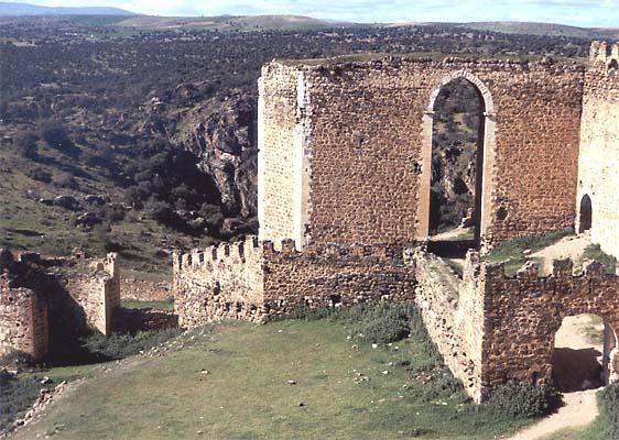 Castillo de Montalbán, detalle