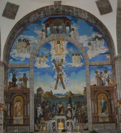 Iglesia parroquial de San Andrés, fresco (Boris Lugovskoy)