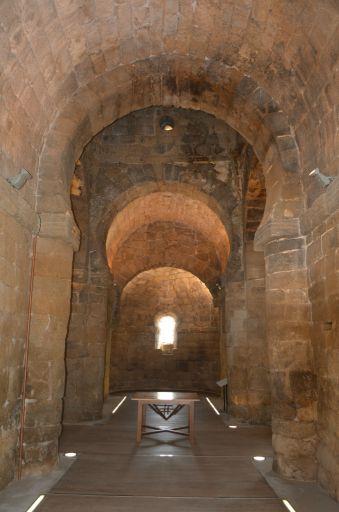 Ermita de Santa María de Melque, interior nave central