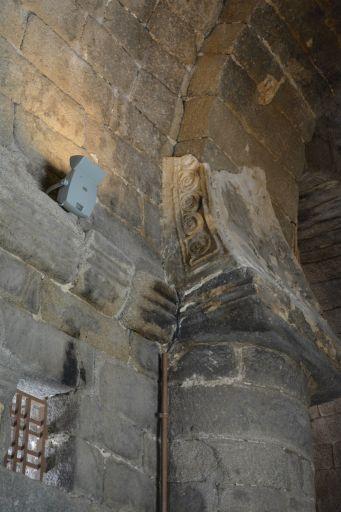 Ermita de Santa María de Melque, detalle decoración