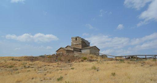 Ermita de Santa María de Melque, vista panorámica