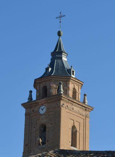 Iglesia parroquial de San Martín Obispo, torre (b)