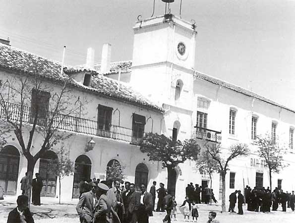 Ayuntamiento en los años 50