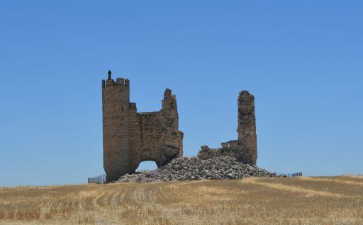 Castillo de Caudilla, restos