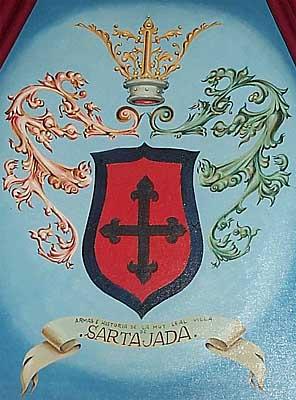 Escudo pintado del Municipio
