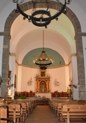 Iglesia parroquial de San Juan Bautista, Altar Mayor