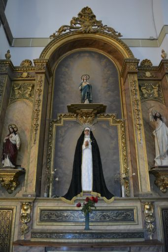 Iglesia parroquial de San Juan Bautista, retablo (b)