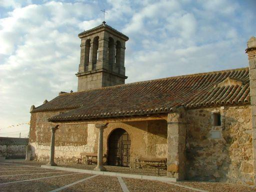 Casalgordo (anejo), Iglesia de San Ildefonso