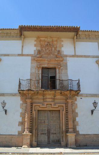 Palacio de las Torres, entrada