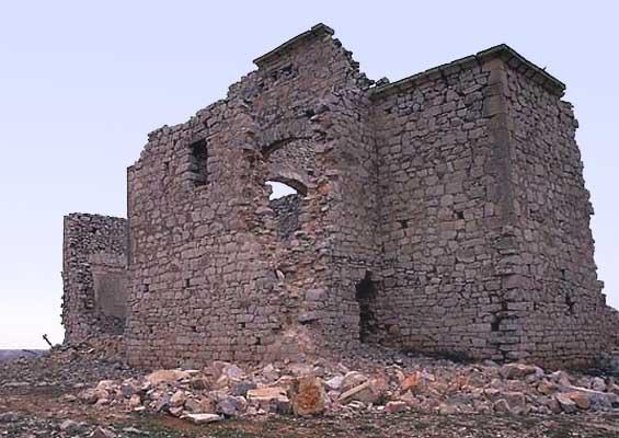 Ermita de Santa Ana, ruinas