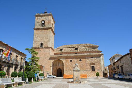 Iglesia parroquial San Antonio Abad, exterior