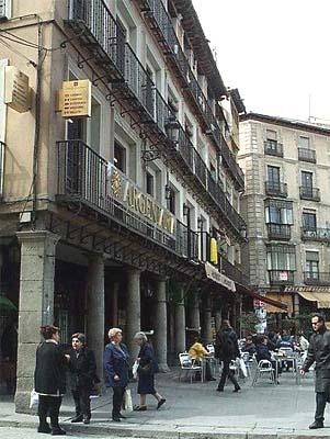 Plaza de Zocodover, soportales