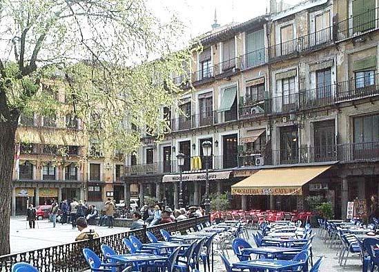 Plaza de Zocodover, terrazas