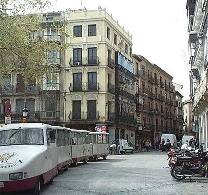 Plaza de Zocodover, tren turístico