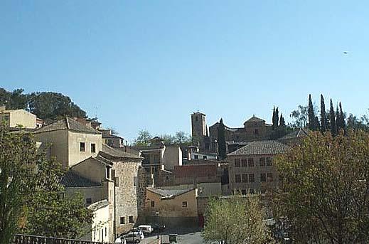 Vista de Toledo, desde  plaza San Fernando (a)