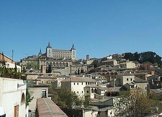 Vista de Toledo, desde  plaza San Fernando (c)