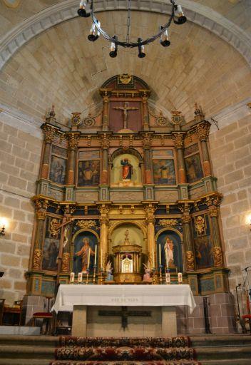 Iglesia parroquial de la Transfiguración del Señor, - El Salvador -, altar