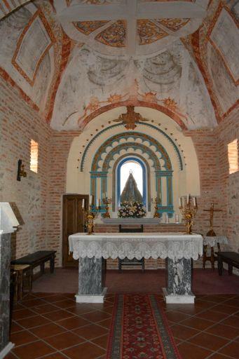 Ermita de Nuestra Señora del Valle, interior