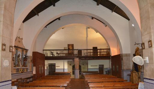 Iglesia parroquial de San Gil Abad, coro