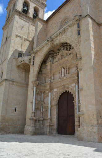 Iglesia Colegiata, exterior detalle