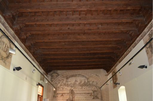 Palacio de Don Pedro I, sala refectorio