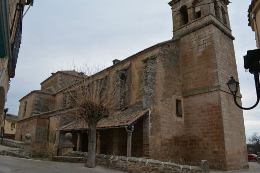 Iglesia de San Blas, pórtico