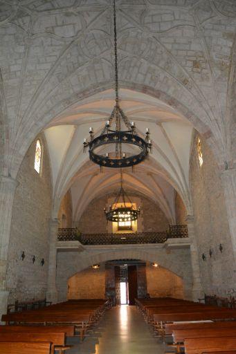 Iglesia parroquial de Nuestra Señora de la Asunción, interior coro