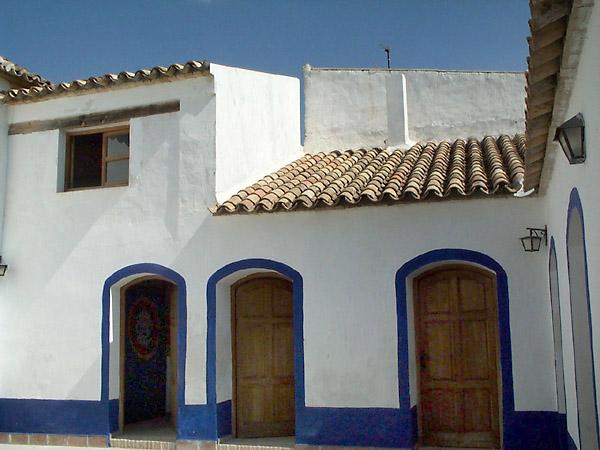 Museo Etnográfico, patio