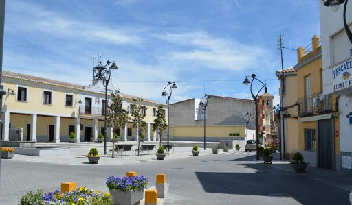 Vista de la Plaza España