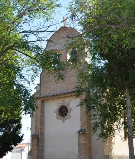 Iglesia parroquial de Nuestra Señora de la Redonda, parte trasera