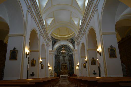 Iglesia parroquial de Santa Leocadia, interior