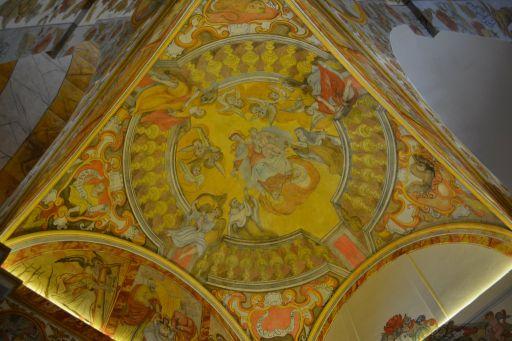 Iglesia parroquial de Santa Leocadia, frescos