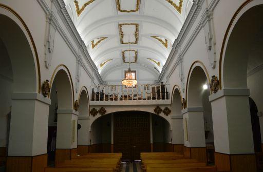 Iglesia parroquial de Santa María Magdalena, interior coro
