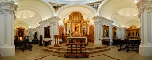 Ermita Santuario de Jesús Nazareno, interior