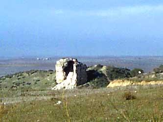 Castillo de Olmos, ruinas