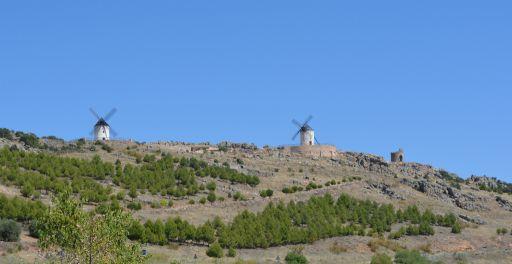 Molinos de viento y la Torrecilla