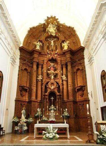 Iglesia de Santa María, interior
