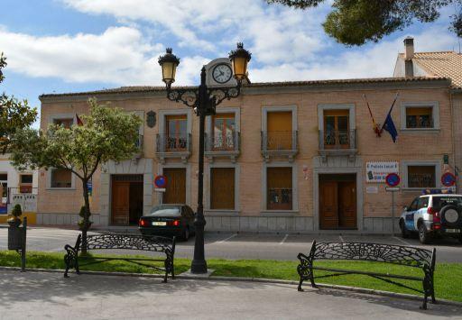 Plaza de España, fachada