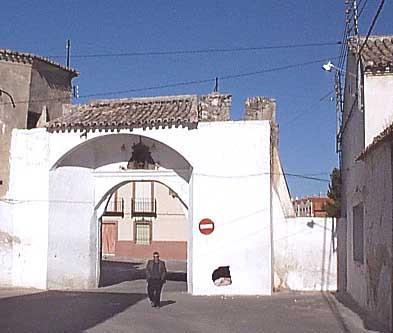 Puerta de la Villa o de Ocaña, interior