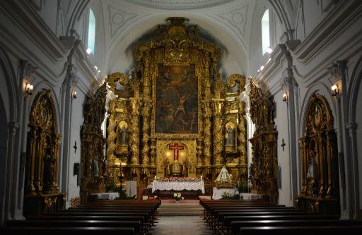Iglesia parroquial de San Andrés, interior
